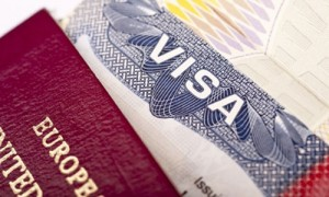 Visa application feature