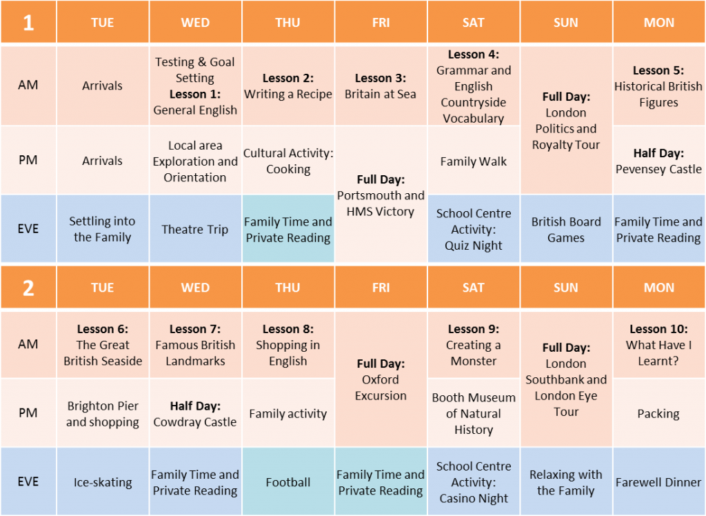 HT Brighton timetable