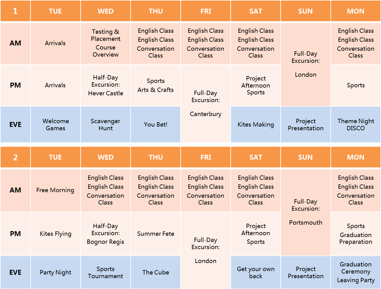 Plumpton-English-Timetable-2016