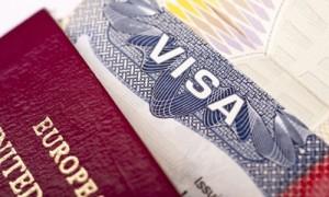Visa application feature