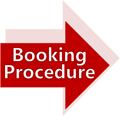 Booking procedure icon float